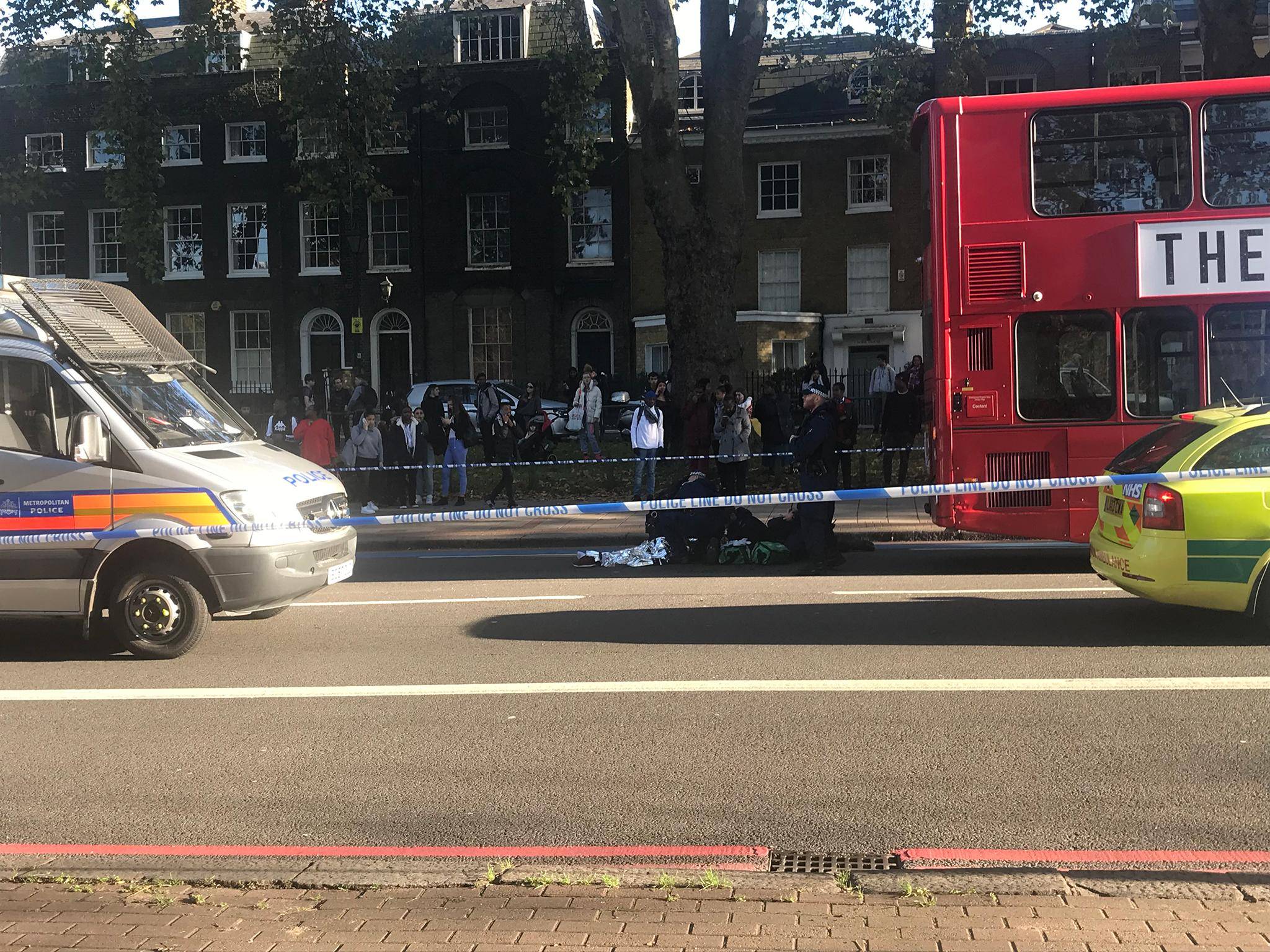 Police Car Hits Teenager Near Clapham Common In South