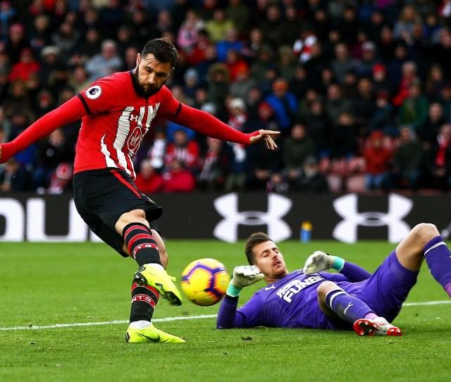 Charlie Austin Saw His Goal Against Newcastle Disallowed