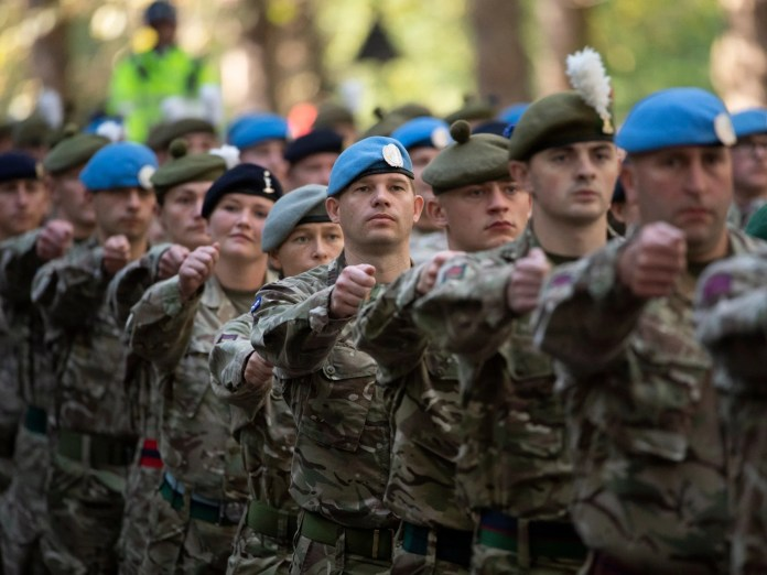 The National Audit Office found a shortfall of 8,200 regulars in the armed forces in 2018