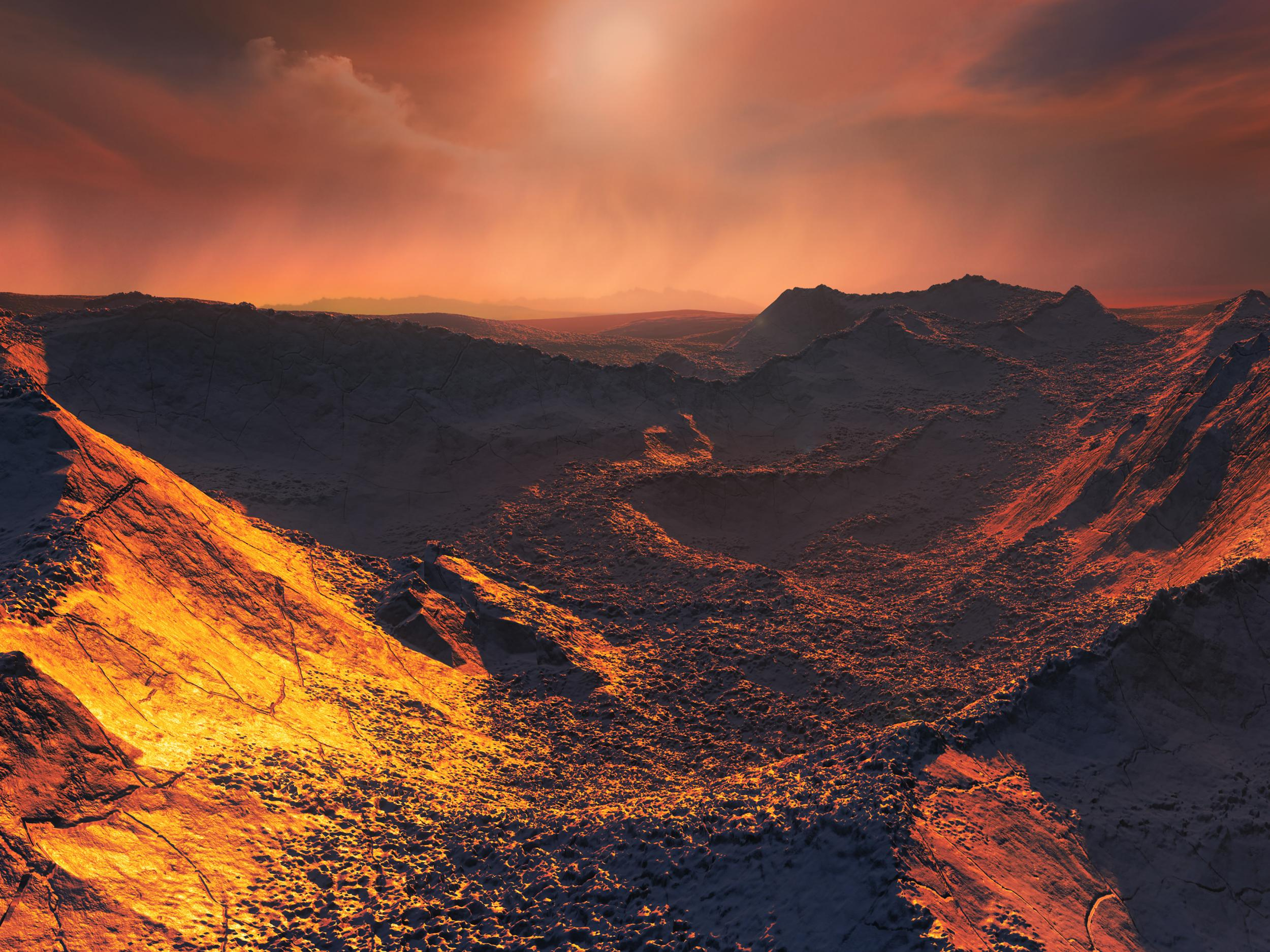 Super Earth Planet Orbiting Nearby Star Discovered By