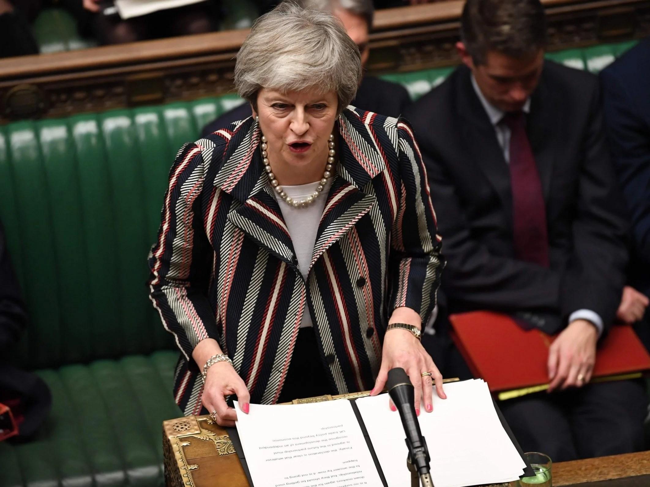 Resultado de imagem para Theresa May
