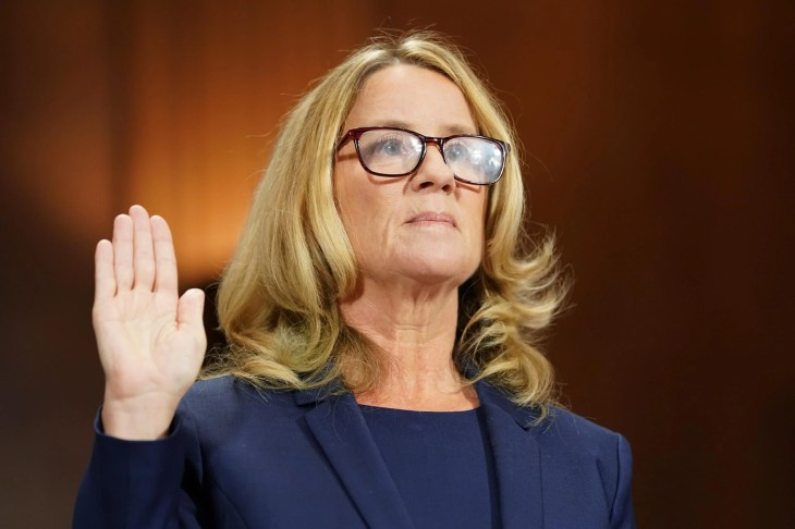 CHRISTINE BLASEY FORD DONATES GOFUNDME MONEY TO SEXUAL ASSAULT SURVIVORS 'Although coming forward was terrifying, and caused disruption to our lives, I am grateful to have had the opportunity to fulfil my civic duty'