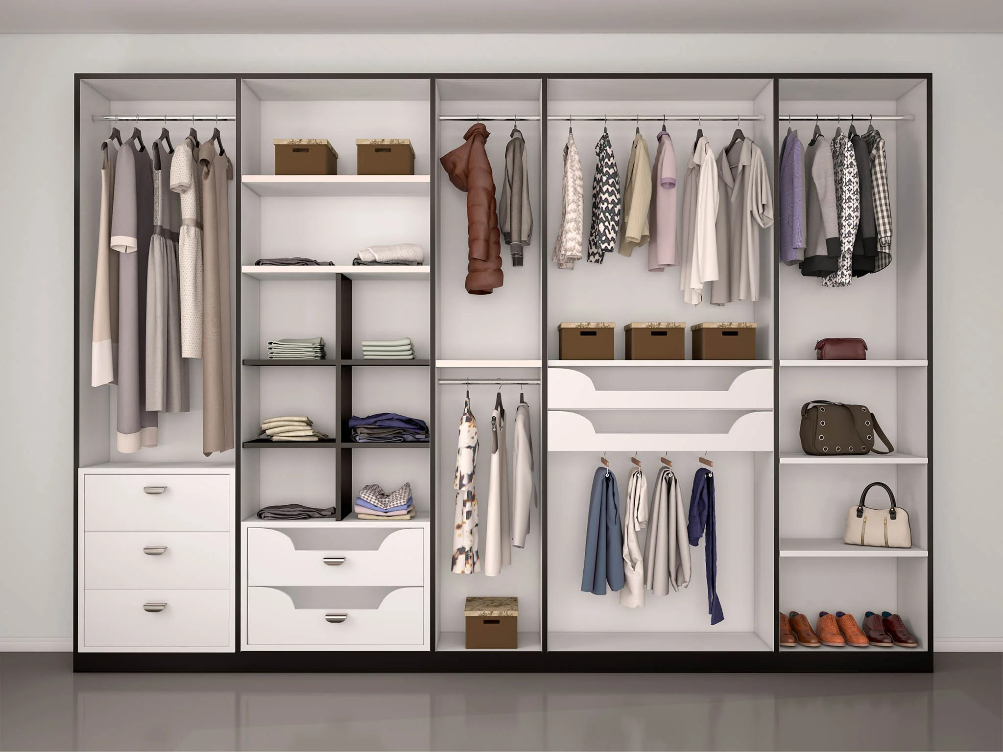 whether you re looking for space savers or classic mirrored fronts make sure a