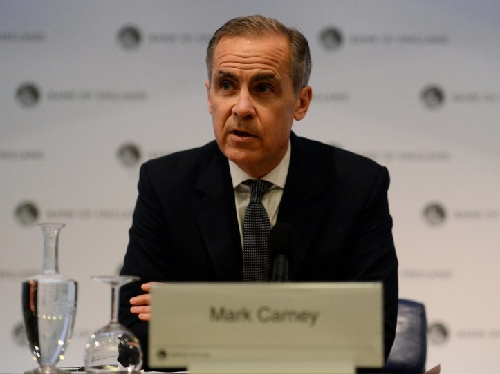 The Bank of England governor warned of an instant shock to the economy in a no-deal scenario