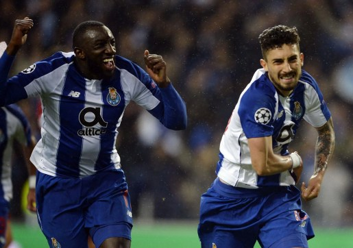 Alex Telles scored late in extra time to send Porto through
