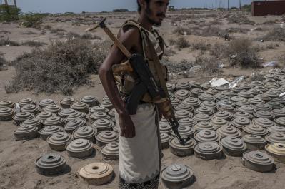 Image result for landmine explosion hodeidah