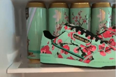 Adidas is collaborating with AriZona iced tea on sneakers (Arizona)