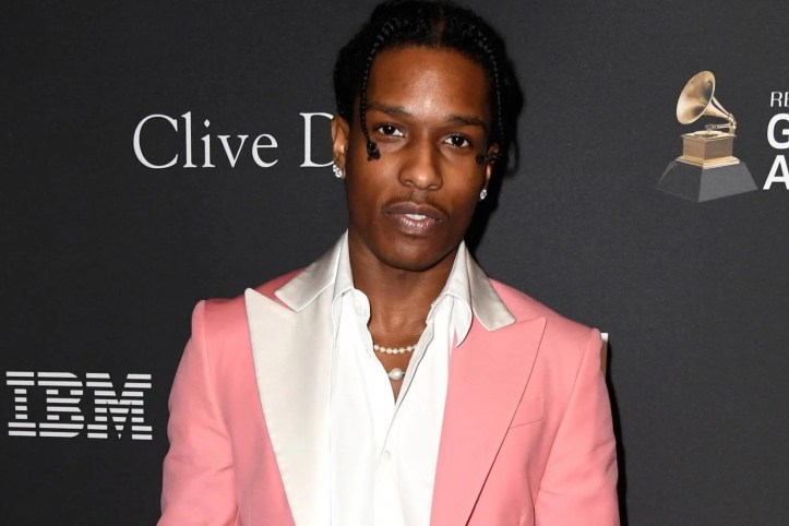A$AP Rocky attends a pre-Grammy gala on 9 February, 2019 in Beverly Hills, California.