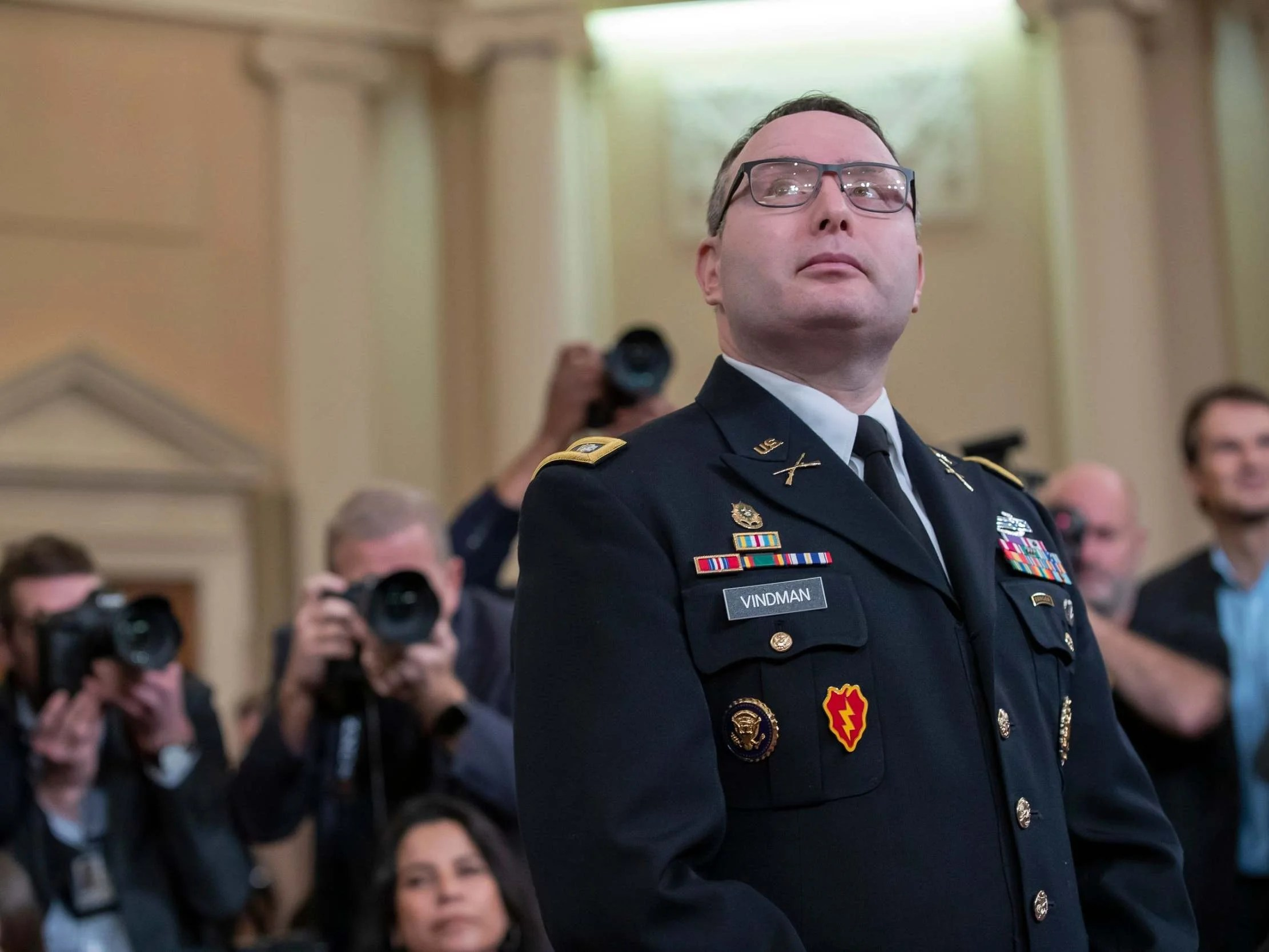 Alexander Vindman: Key impeachment witness to retire from army over 'intimidation' led by Trump 2