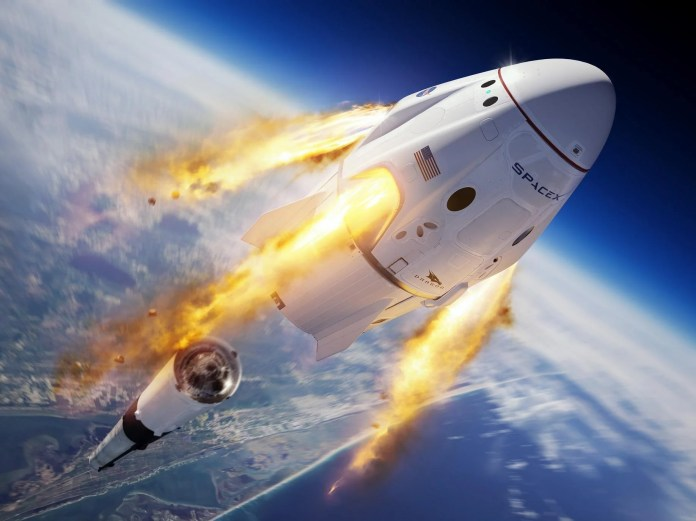 SpaceX Nasa launch: How to watch Crew Dragon capsule in skies ...