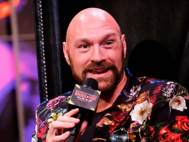 Tyson Fury talks up 'respect' for Deontay Wilder in lighthearted press conference | The Independent | The Independent