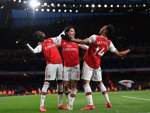 Arsenal vs Everton result: Pierre-Emerick Aubameyang leads ...