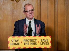 Sir Patrick Vallance, the government's chief scientist, is becoming a  problem for Boris Johnson   The Independent   The Independent