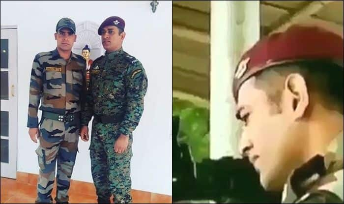 WATCH: MS Dhoni Sizzles in Indian Army's Shooting Range in Kashmir