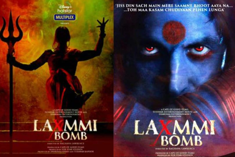 Laxmmi Bomb Posters: Akshay Kumar Looks Fiery And Amazingly Mysterious in Raghava Lawrence Directorial 1