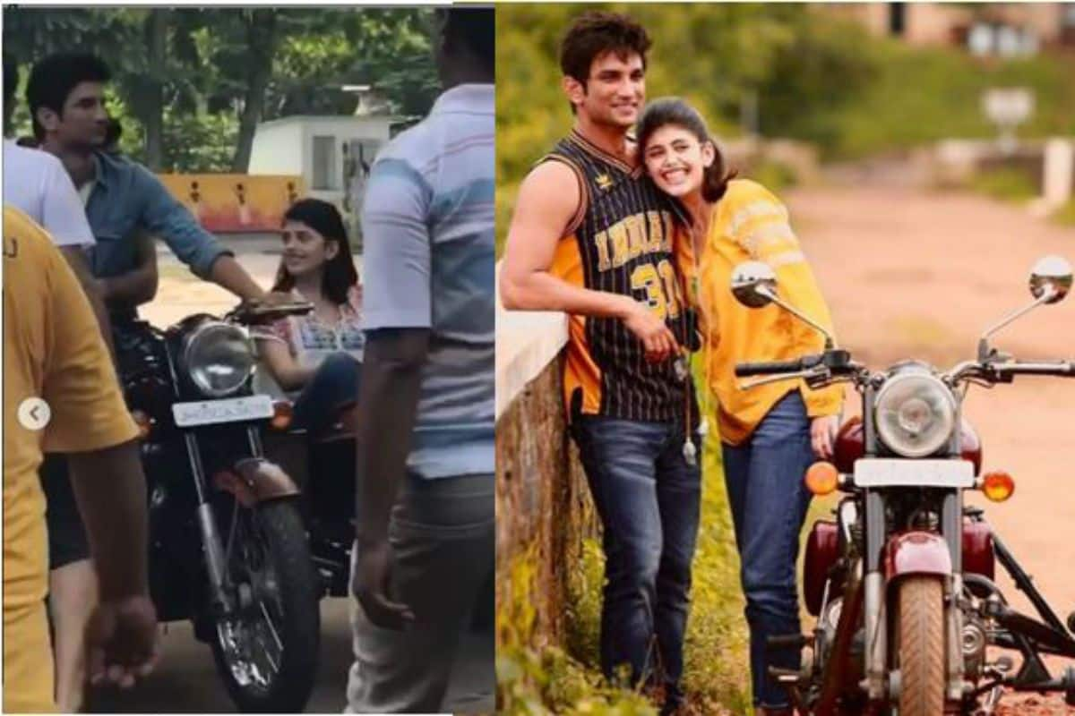 Sushant Singh Rajput's Dil Bechara co-star Sanjana Sanghi Shares BTS Pics From First Day of Shoot With Him 8
