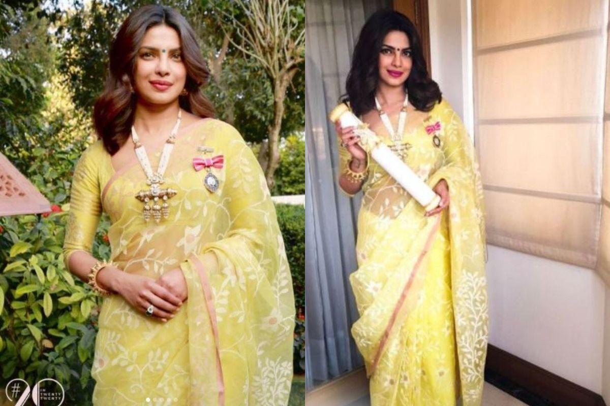 Priyanka Chopra Reminisces Her Padma Shri Win, Says 'It Bring Backs Incredible Memories'