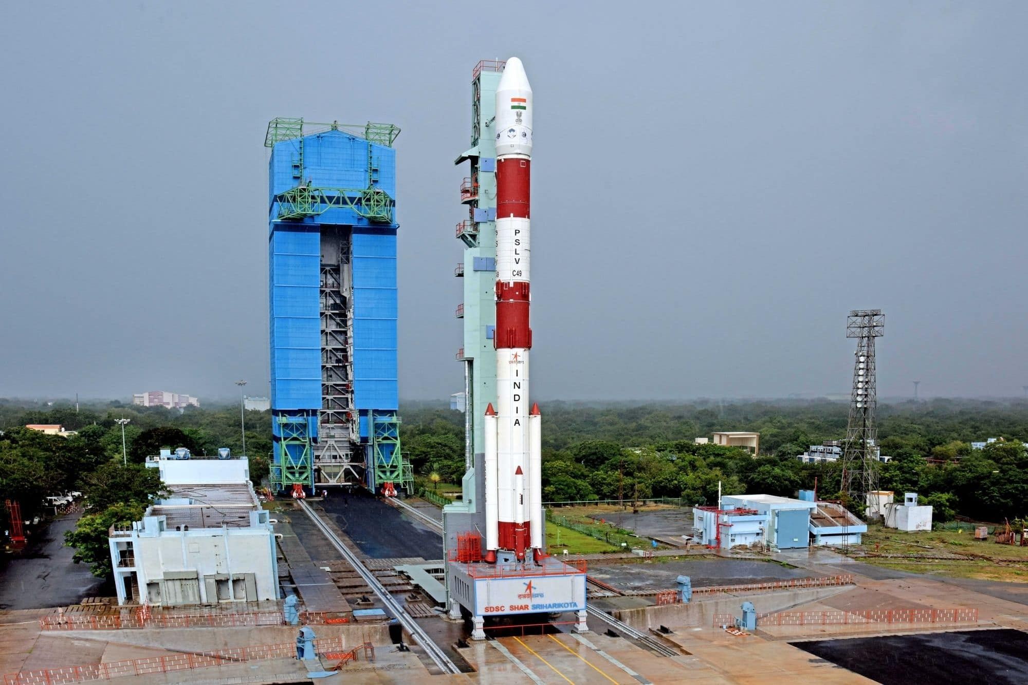 ISRO's PSLV-C51 Rocket Set to Blast Off on Sunday Carrying Bhagavad Gita, PM Modi's Photo