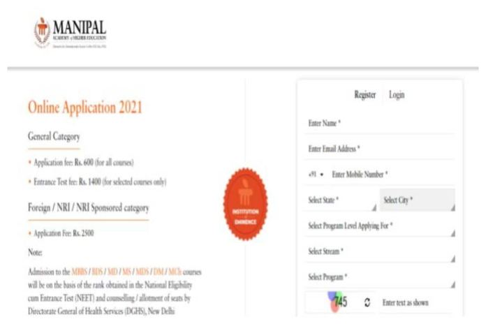 MET 2021 Application Form Available At manipal.edu, Check Full Details Here