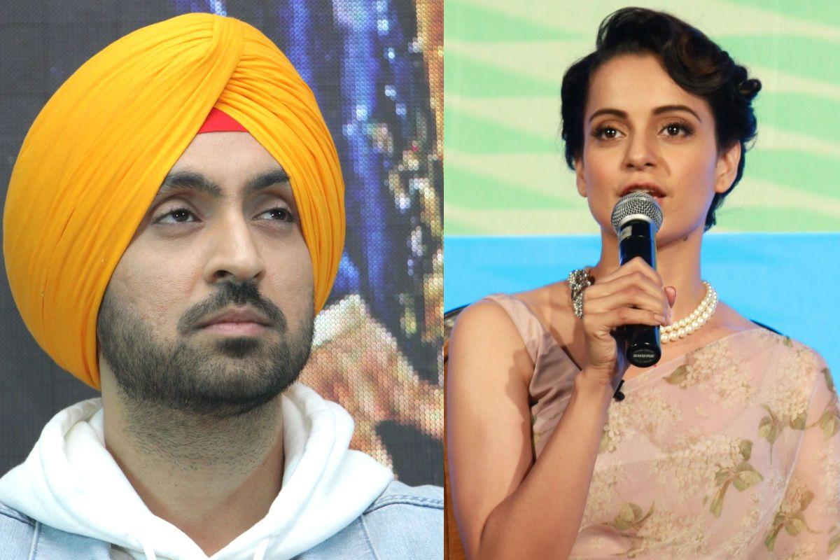Diljit Dosanjh Asks Kangana Ranaut to Stop 'Barking' After She Calls Him 'Karan Johar Ka Paltu'