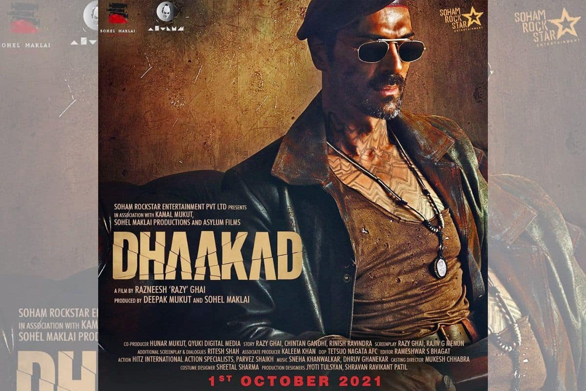 Dhaakad New Poster Out: Arjun Rampal is