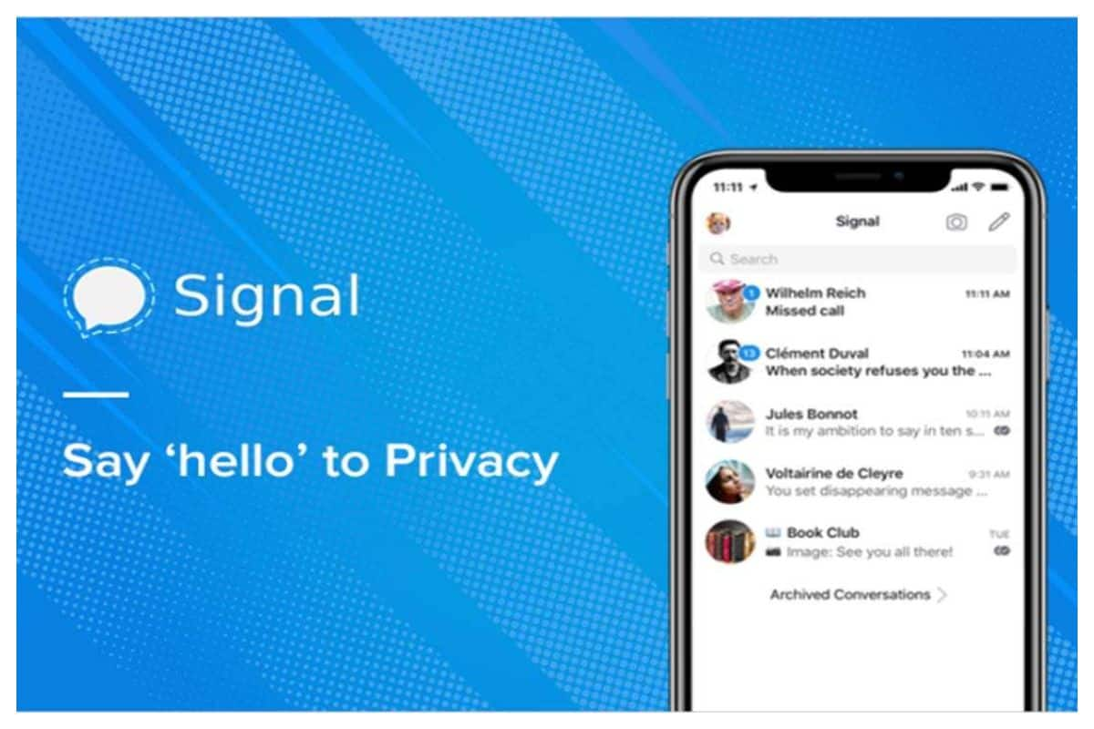 Signal Down: With Huge Influx of New Users, WhatsApp Rival Stops Working