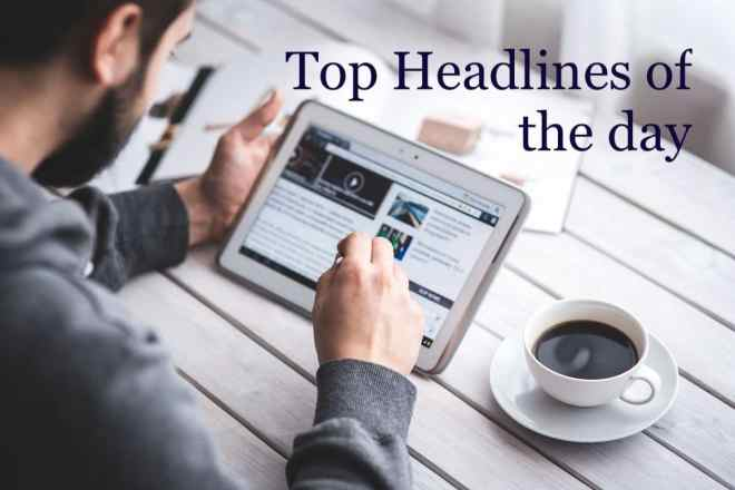 Check Top 5 News of The Day