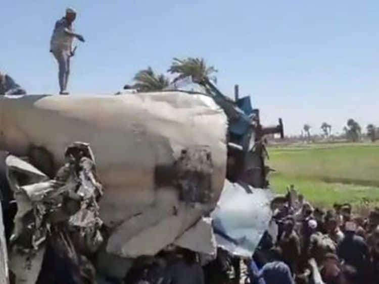 At Least 32 People Killed & 66 Injured As Two Passenger Trains Collide in Egypts Sohag