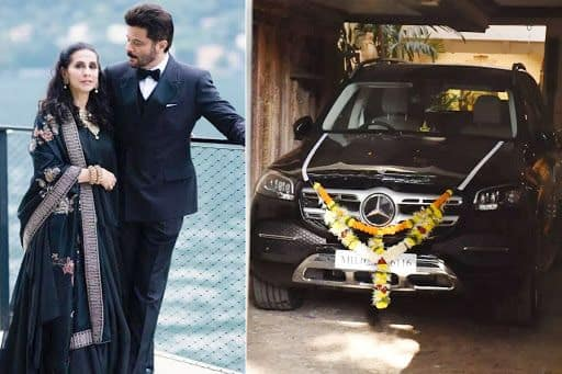 Anil Kapoor Gifts His Wife Sunita Kapoor Swanky Black Mercedes-Benz GLS Worth Rs 1 Crore