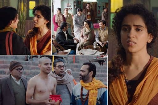 Netizens Hail Sanya Malhotra For Presenting 'Brutal Reality in Comic Way'