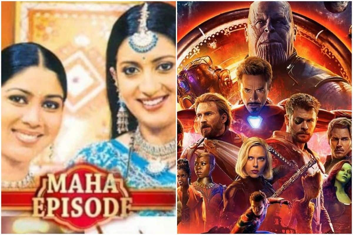 Ekta Kapoor Shares Meme Comparing Avengers Infinity War to 'Maha Episode' of Her Daily Soaps, Smriti Irani Reacts