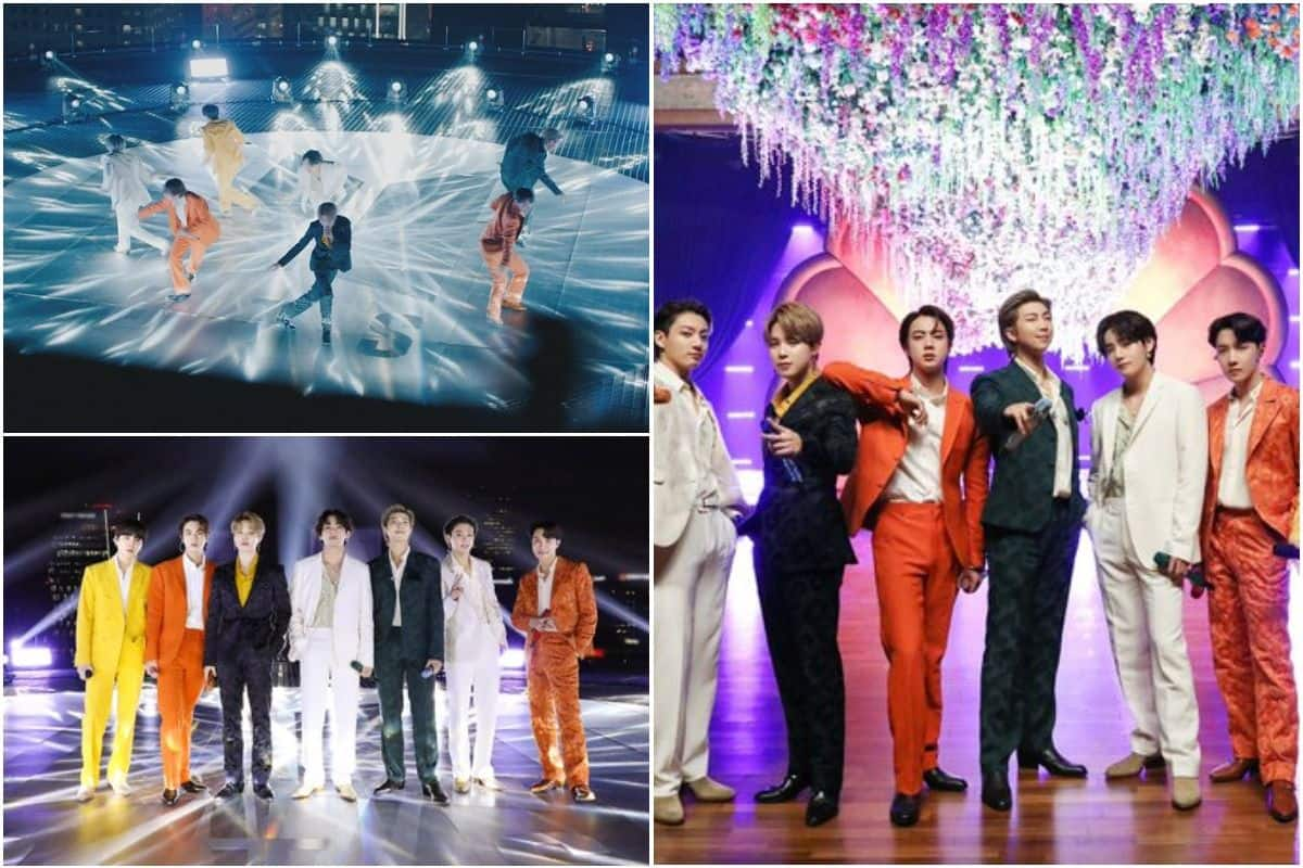 BTS Performance at Grammys 2021 Wins The Internet, Fans Share Stunning Pics on Twitter