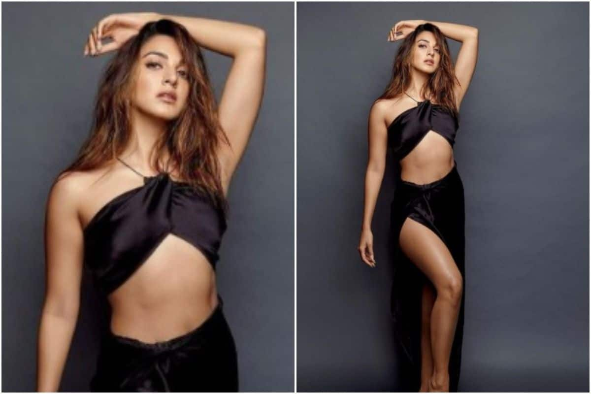 Kiara Advani Looks Like a Fireball in a Black Slit Dress, New Photoshoot Goes Viral