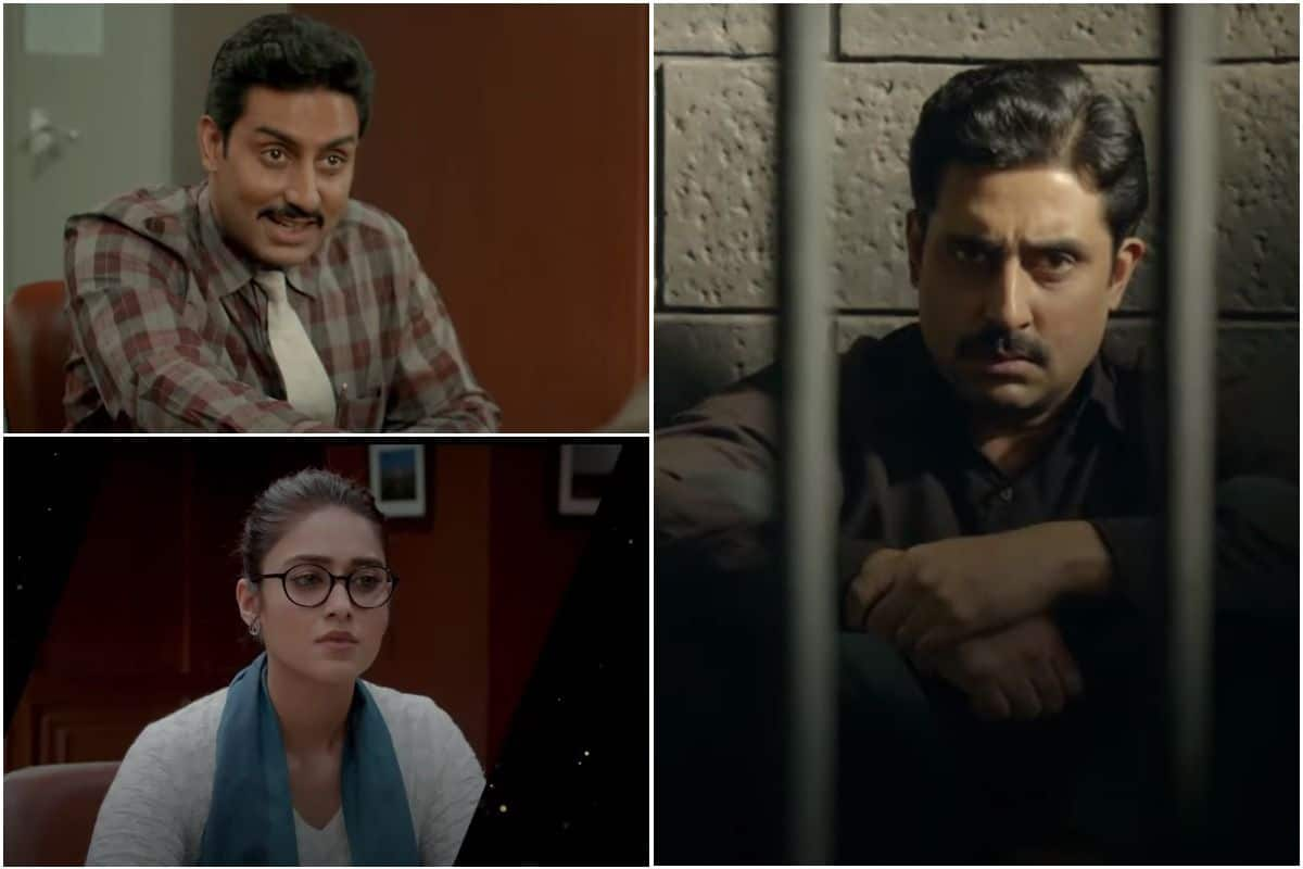 Abhishek Bachchan Shows Off Strong Acting Skills as The Leading Gujarati Stockbroker