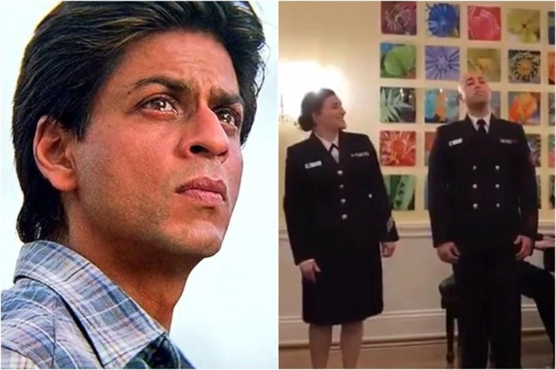 Shah Rukh Khan Goes All Nostalgic And Proud as US Navy Band Sings Ye Jo Des Hai Tera