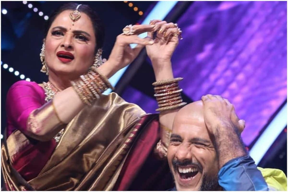 Rekha Plays Tabla on Vishal Dadlani Bald Head, Singer Shares The Funny Incident