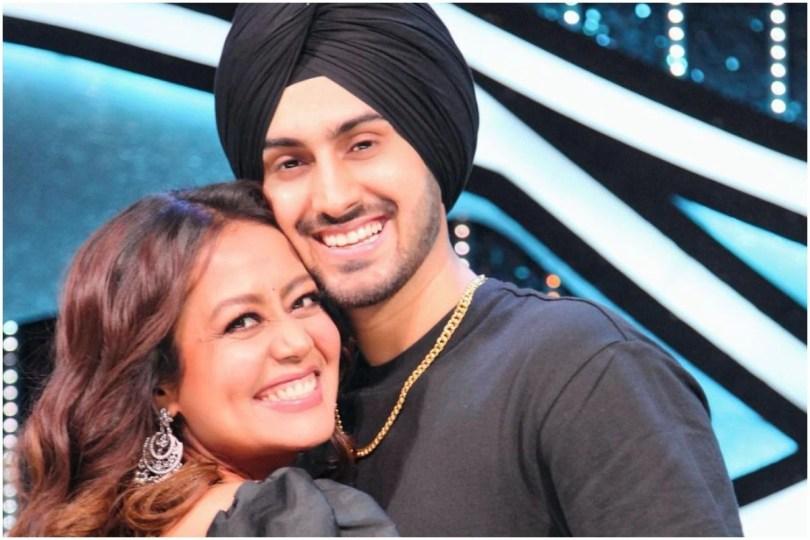 Neha Kakkar Goes All Emotional as Fan Touches Rohanpreet Singh Feet