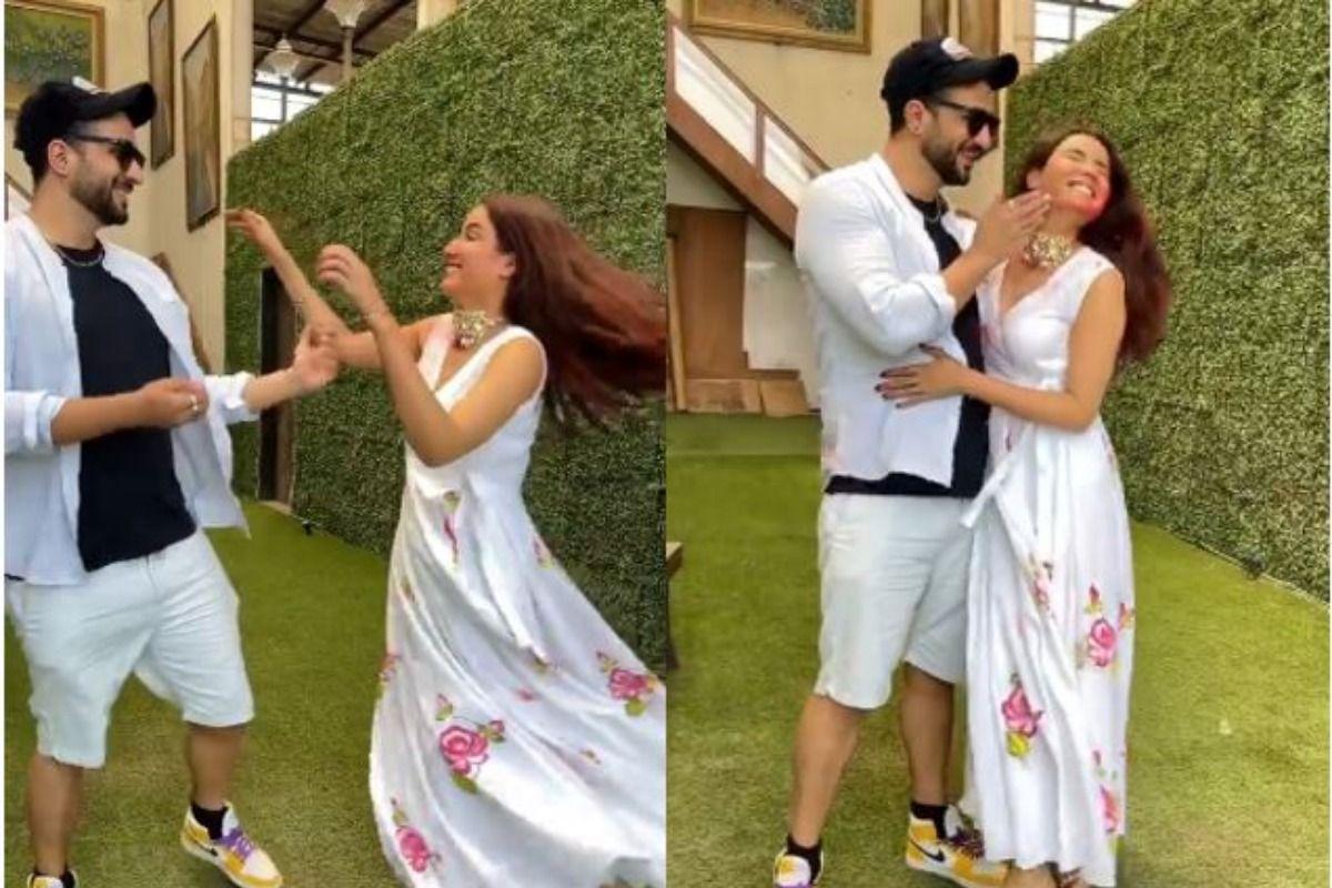 Jasmin Bhasin – Aly Goni Play Holi And Dance on Their Song Tera Suit, Fans Say Jasmin Sharmalo Thoda Aur