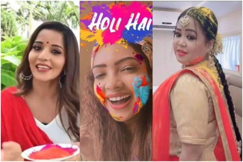 From Rashami Desai to Bharti Singh, TV Celebs Pour in Wishes on Holi 2021