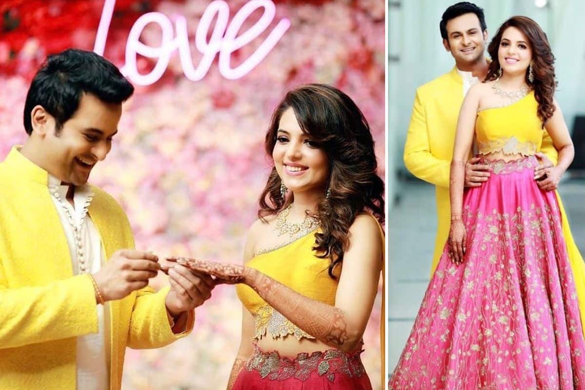 Sugandha Mishra-Sanket Bhosle Are Married Couple Now, Bride Shares Mesmerising Engagement Pictures