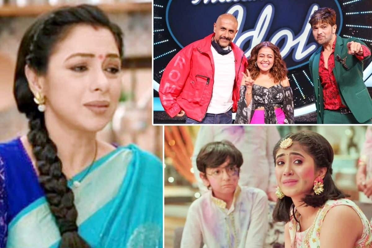 Indian Idol 12 Makes Surprise Entry, Anupama Maintains Top Spot