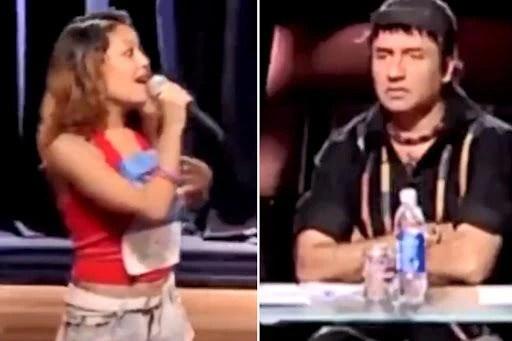 Neha Kakkar's Audition at Indian Idol 2: Anu Malik Slaps Himself After Watching Her Performance   Watch