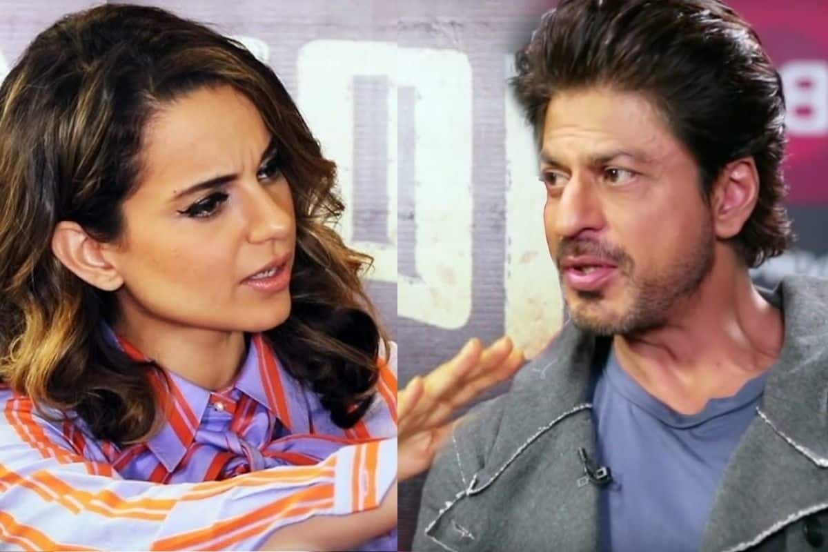 Kangana Ranaut Gets Trolled For Comparing Her Journey With Shah Rukh Khan And Saying 'His Parents Were Involved in Films'