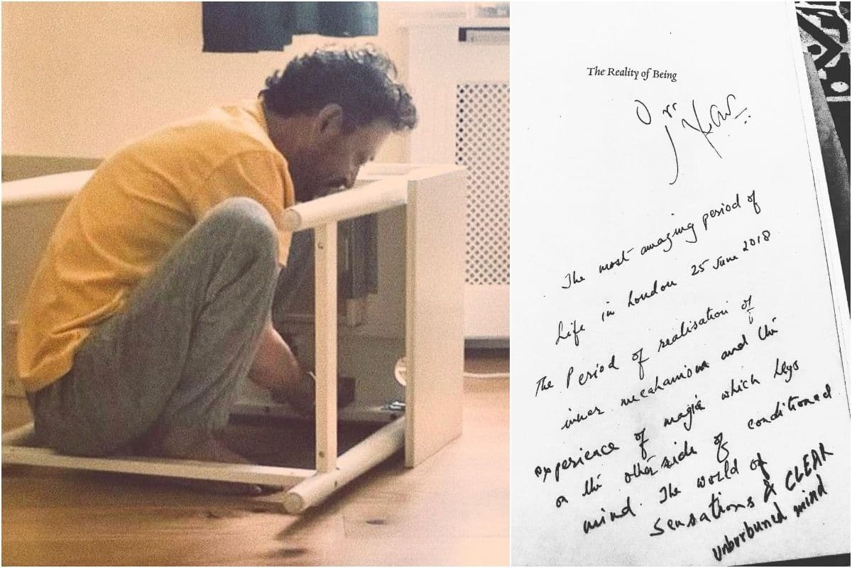 Irrfan Khan Son Babil Shares Picture From His Chemotherapy Days And a Hand-Written Note by Actor