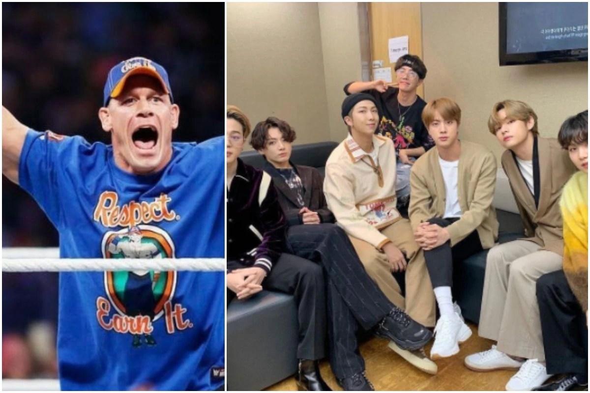 BTS Surpasses 900 Million Views, John Cena Shares Lovely Incident