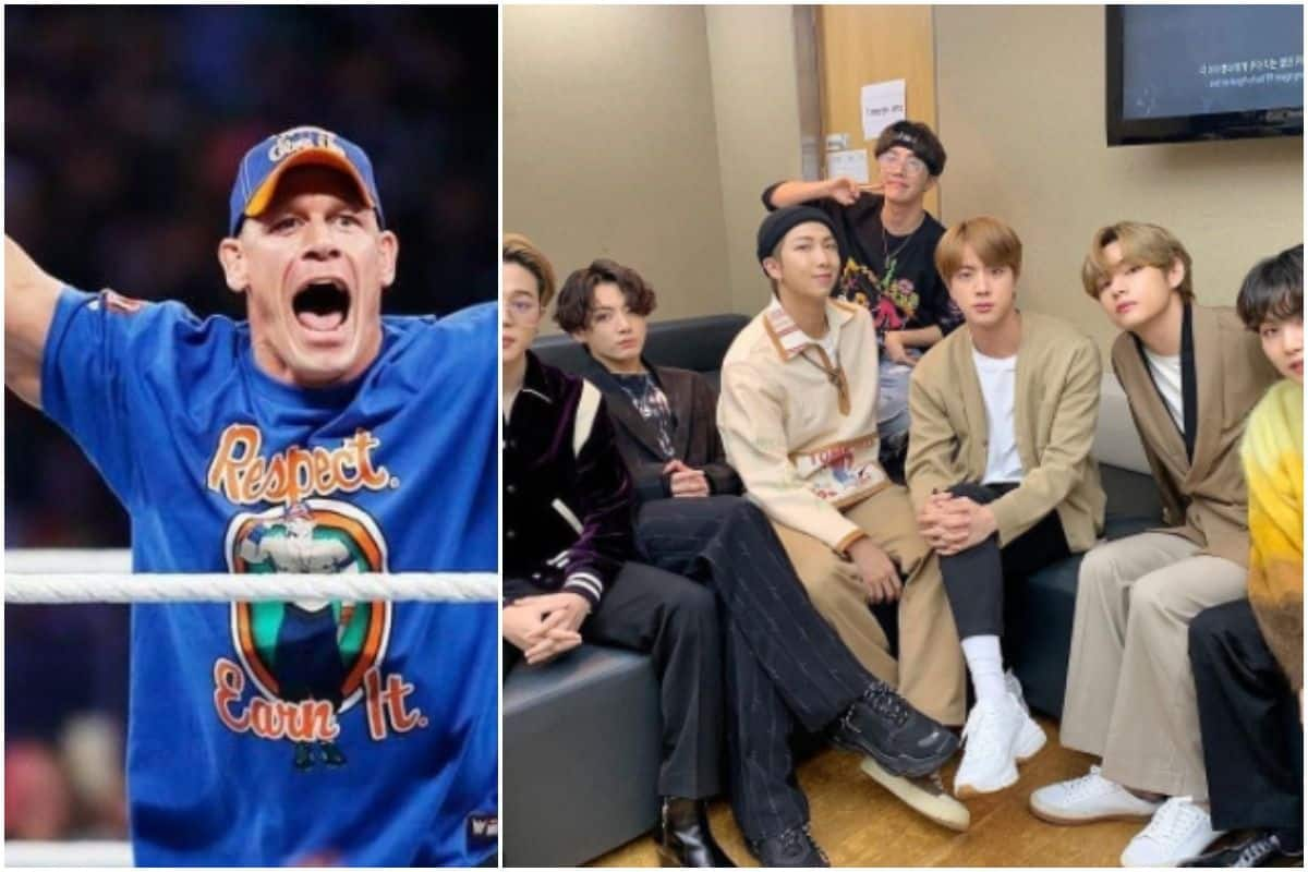 BTS Surpasses 900 Million Views, John Cena Shares Lovely Incident