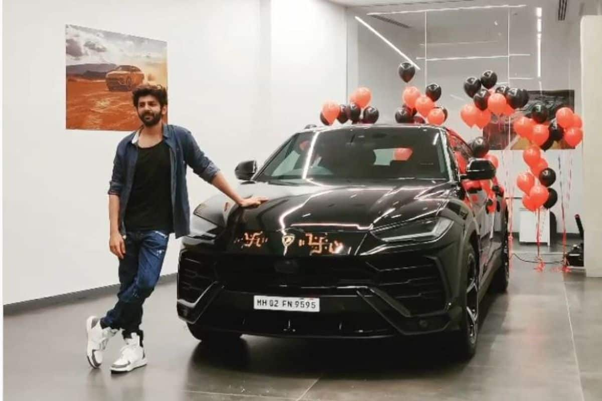 Kartik Aryan Buys New Black Lamborghini Urus SUV Worth Rs 3.10 Crore, Shares Funny Moment With Fans