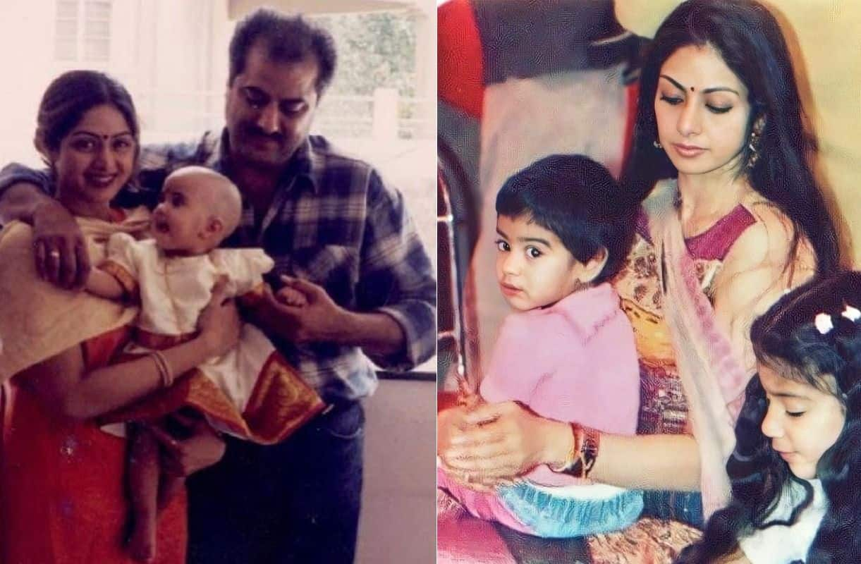 Janhvi Kapoor, Khushi Kapoor Share Rare Throwback Pictures With