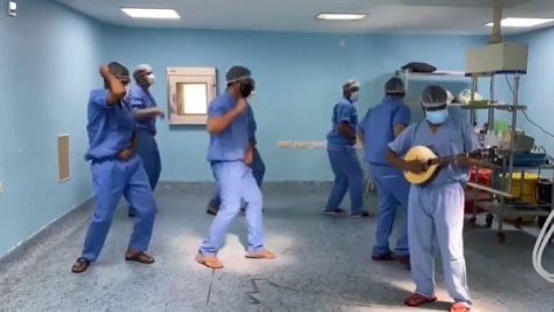 Group of Doctors Dance to Salman Khan's Radhe Song