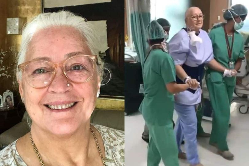 Nafisa Ali Sodhi Shares Her Video After Undergoing Peritoneal Cancer Surgery, Says